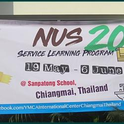Welcome NTU (National University of Singapore) to YMCA Chiangmai, Thailand
