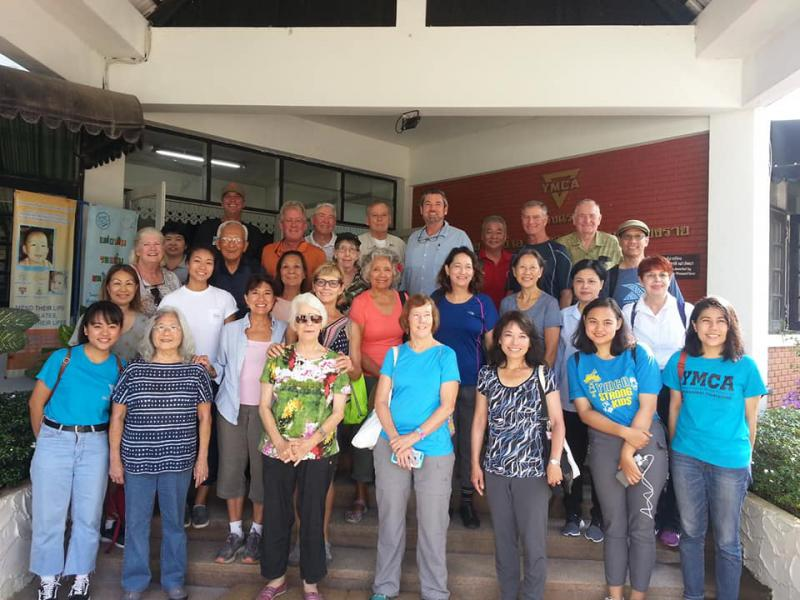 The Rotary Club visit Chiangrai YMCA